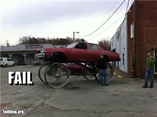 cars,customization,failboat,g rated,too big,wheels