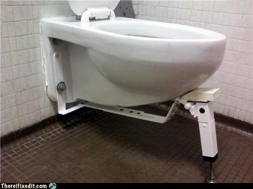 The New McDonalds Toilet, Now With Extra Support