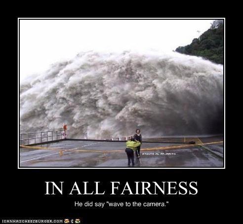 flood,flooding,photographer,photos,pun,water,wave