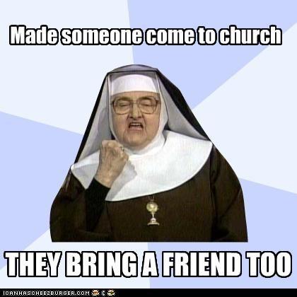 Success Nun Is Successful
