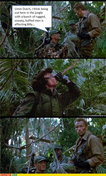 Arnold Schwarzenegger,From the Movies,jk,Predator,wtf