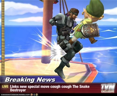 Breaking News - Links new special move cough cough The Snake Destroyer