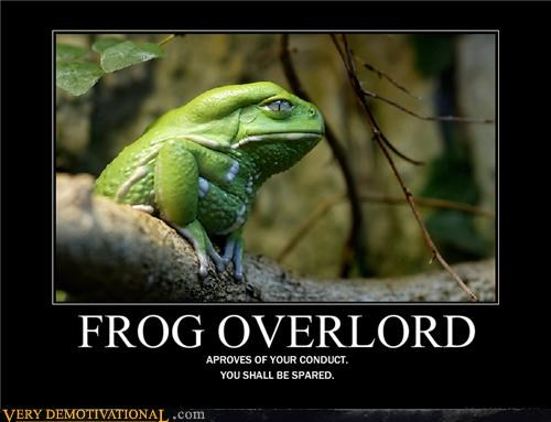 All hail the Frog Overlord.