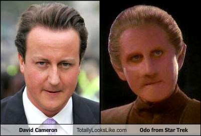 David Cameron Totally Looks Like Odo from Star Trek