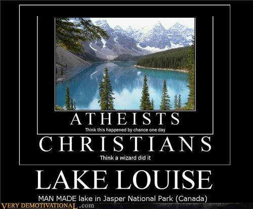 jasper national park,lake louise,man made