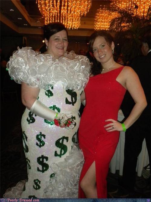 dollar,dress,tacky,wtf