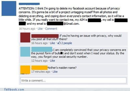Facebook Privacy Theories