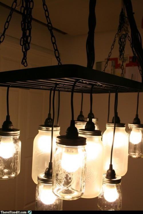 art,chandelier,creative,lights,not a kludge