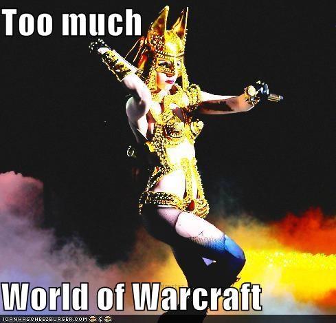 funny,lady gaga,Music,world of warcraft