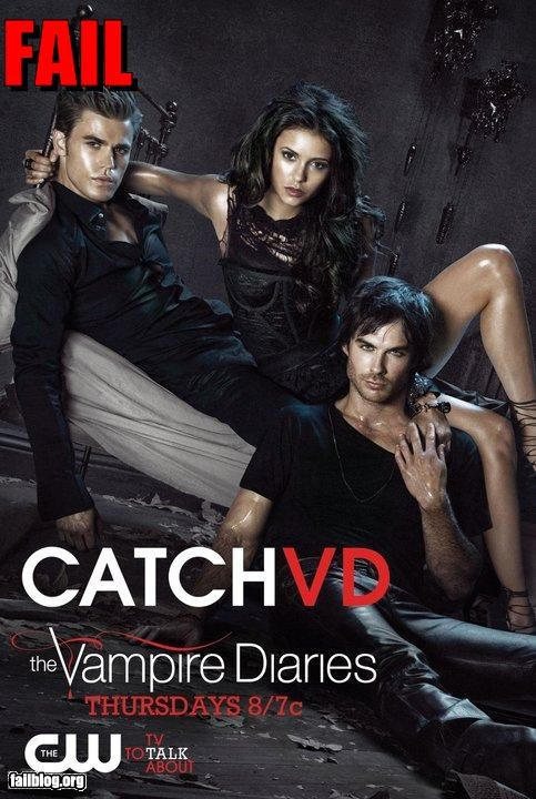 Vampire Diaries Ad Fail