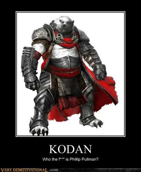 phillip pullman,bear,armor,kodan