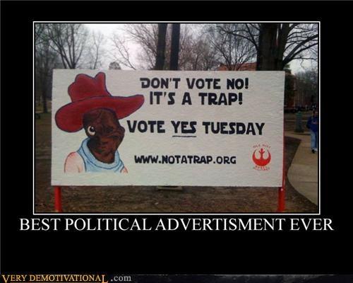 advertisement,akbar,politics,sign,trap