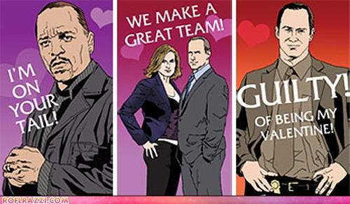 Show Her You Care With A Law & Order: SVU Valentine's Card