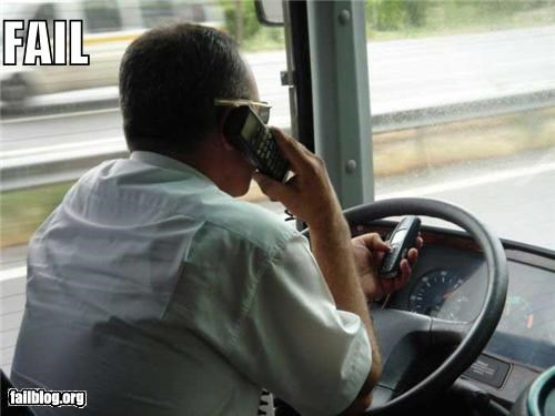 Texting and Driving FAIL
