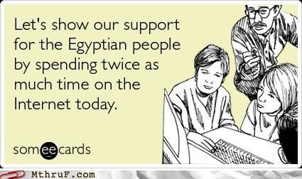 egypt,internet,slacktivism,support,wasting time