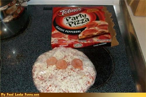Funny Food Photos - Pizza Party