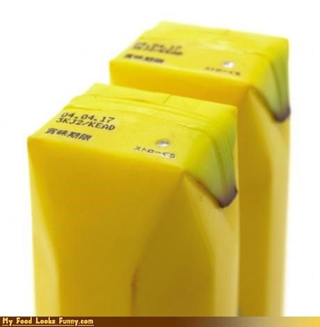 Funny Food Photos - Banana Juice Box