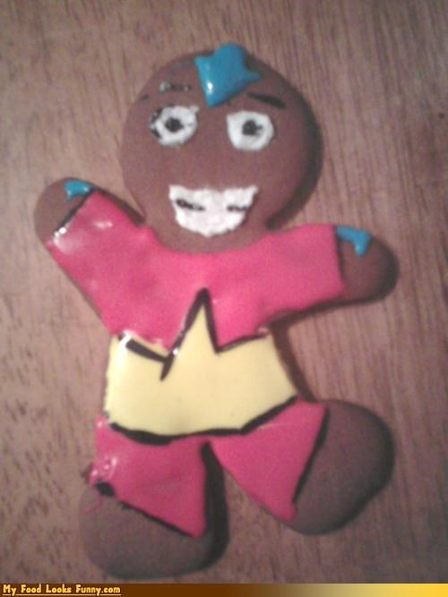 Funny Food Photos - The Last Airbender Gingerbread Man