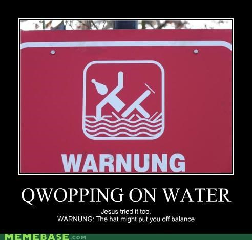QWOPPING ON WATER