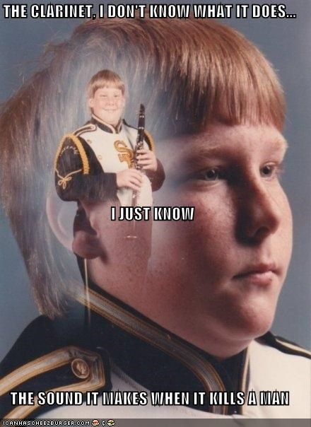 PTSD Clarinet Kid: I Don't Know What It Does