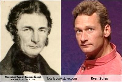 Plantation Tycoon Jacques Joseph Roman from the 1700s Totally Looks Like Ryan Stiles