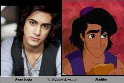 actor,aladdin,Avan Jogia,cartoons,disney