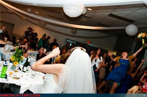 awesome bouquet toss picture,bouquet toss,bouquet toss win,bridal party,bride,fashion is my passion,funny bouquet toss picture,funny wedding photos,miscellaneous-oops,technical difficulties,wedding party,wedding reception,wedding win