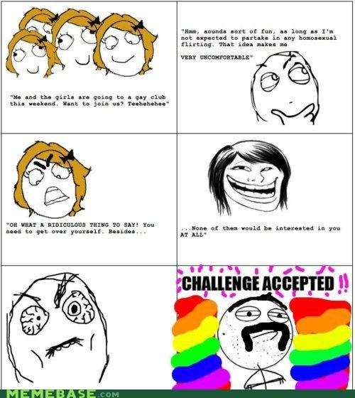 Challenge Accepted: Gay Bar