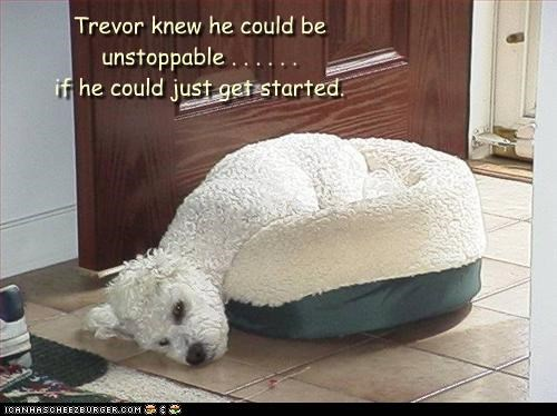 Trevor knew he could be unstoppable . . . . . . if he could just get started.