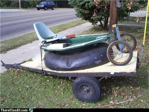 My Hovercraft Came Back From The Factory