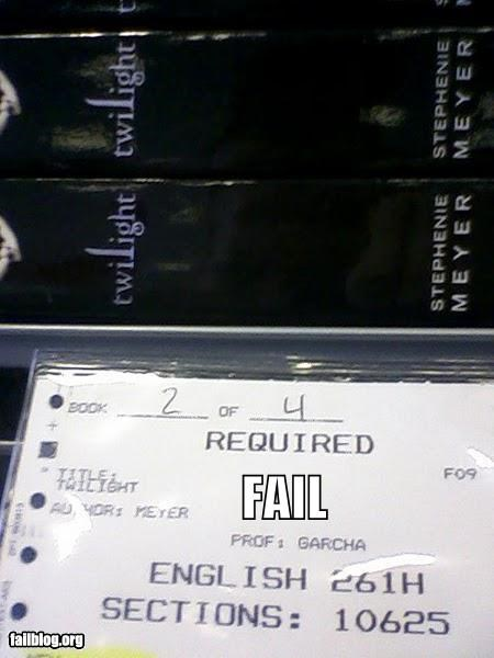 Required Reading FAIL