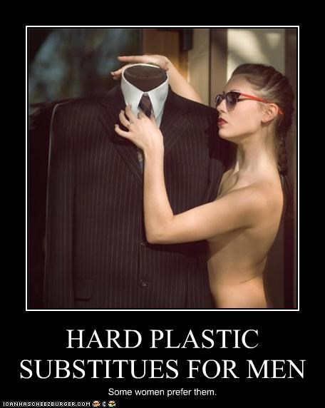 HARD PLASTIC SUBSTITUES FOR MEN