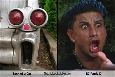 Back of a Car Totally Looks Like DJ Pauly D