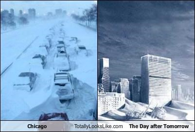 Chicago Totally Looks Like The Day After Tomorrow