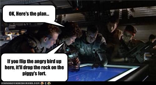 Aliens,angry birds,funny,game,Hall of Fame,sigourney weaver