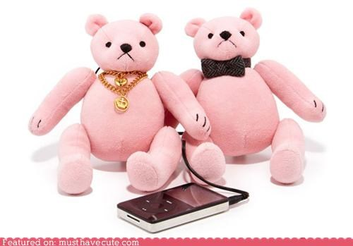Juicy Couture Bear Speakers