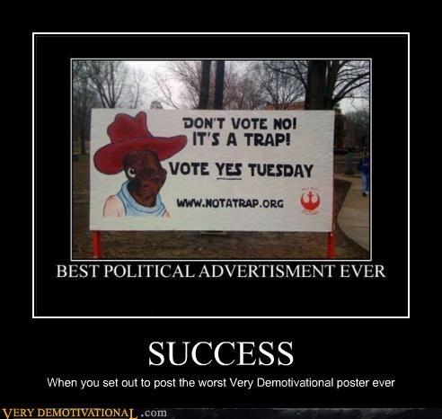 poster,success,demotivational