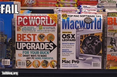 failboat,g rated,mac,magazine,PC,technology,the great debate