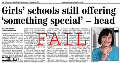 Girls' Schools Still Offering 'Something Special'...