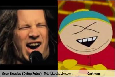 Sean Beasley (Dying Fetus) Totally Looks Like Cartman