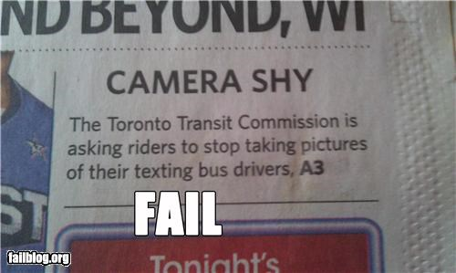 Bus Drivers Fail