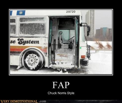 fap,chuck norris,bus