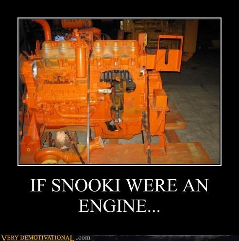 IF SNOOKI WERE AN ENGINE...