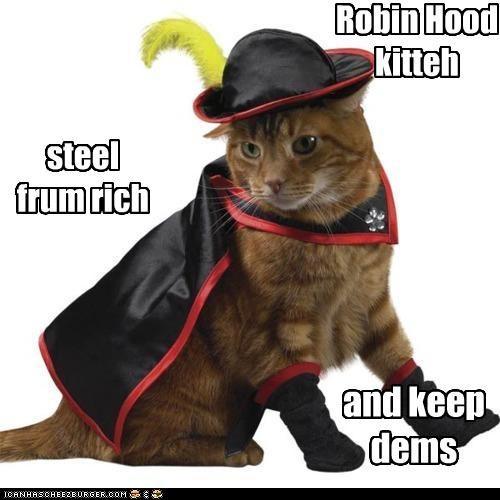 Robin Hood Kitteh