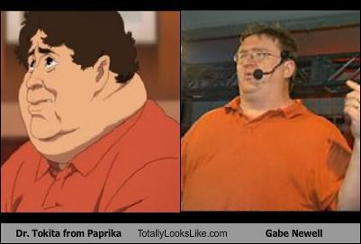 anime,dr-tokita,fat,gabe newell,obese,orange,paprika