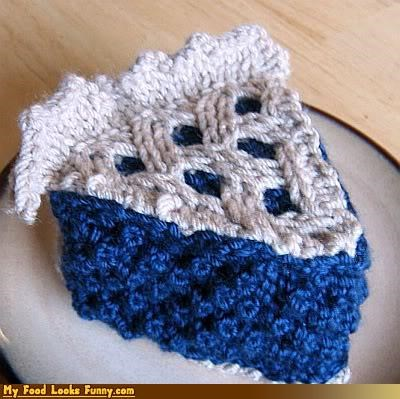 art,craft,fiber,inedible,Knitted,pie,yarn