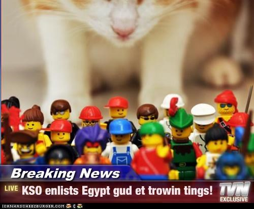 Breaking News - KSO enlists Egypt gud et trowin tings!