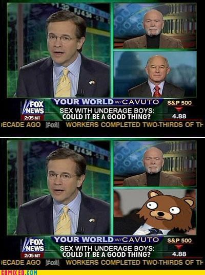 fox news,pedobear,really wtf,science,trolling,wtf