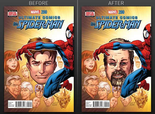 A Co-Worker Slowly Photoshopped Onto Comic Book Covers is The Best April Fool's Prank We've Seen All Day