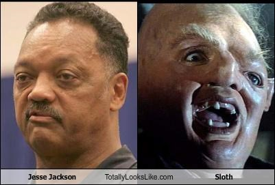 Jesse Jackson Totally Looks Like Sloth